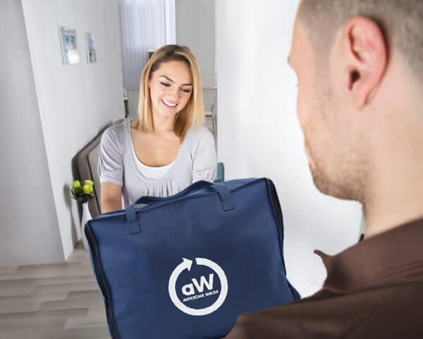 洗濯代行の受渡し方法受渡し集配