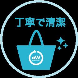 丁寧で清潔な洗濯代行サービス